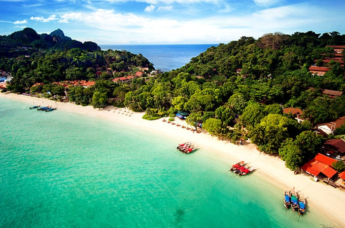 Zeavola Resort is nestled in the tropical forest on one of Thailand's most gorgeous islands