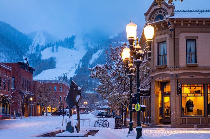 Let it snow. Aspen ski lifts launch in late November. Photo: Jeremy Swanson