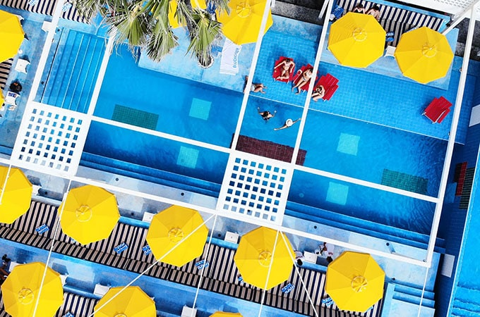 Tropicola burst onto the Bali Beach Club scene last year with a vibrant, retro-chic offering. With two pools, three bars and an open woodfire kitchen, it has your lounging needs covered. A restaurant, rooftop bar and accommodation are in the works for the venue.