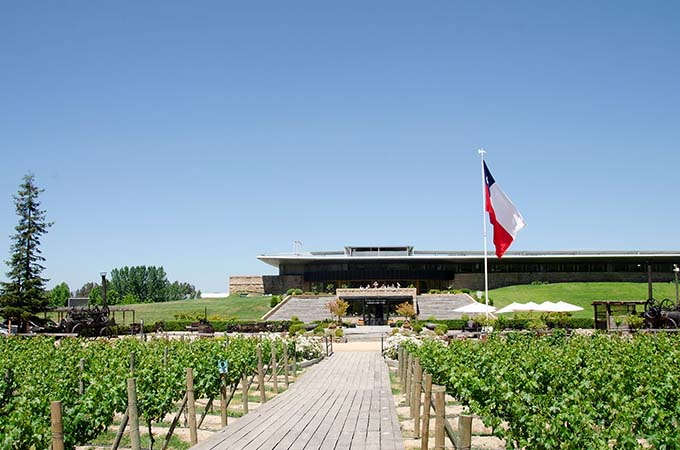 Chile - Clos Apalta residence