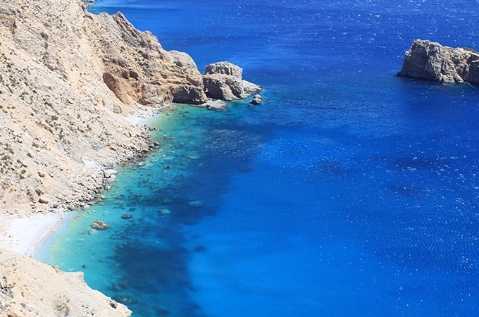 The picturesque Amorgos Island