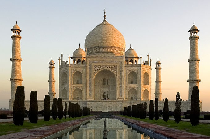 You really can't come to India without seeing the enchanting Taj Mahal