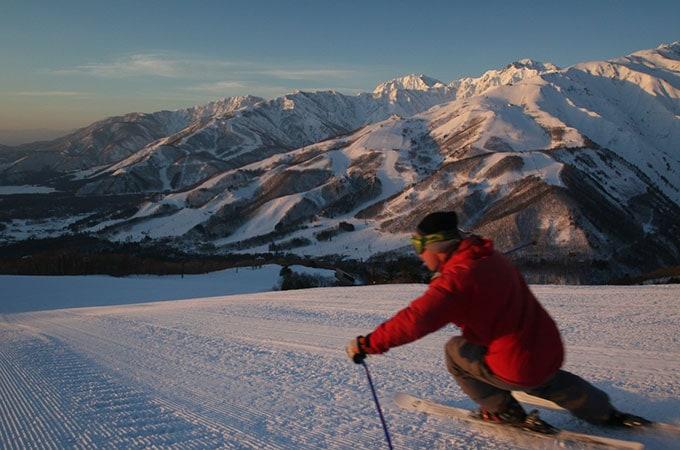 Skiing Hakuba is something you can't miss in Japan