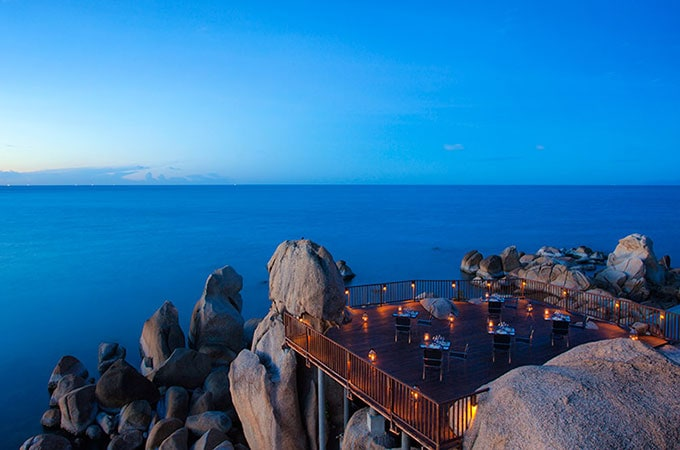 Celebrate on Silavadee's spectacular Sun Deck this Christmas