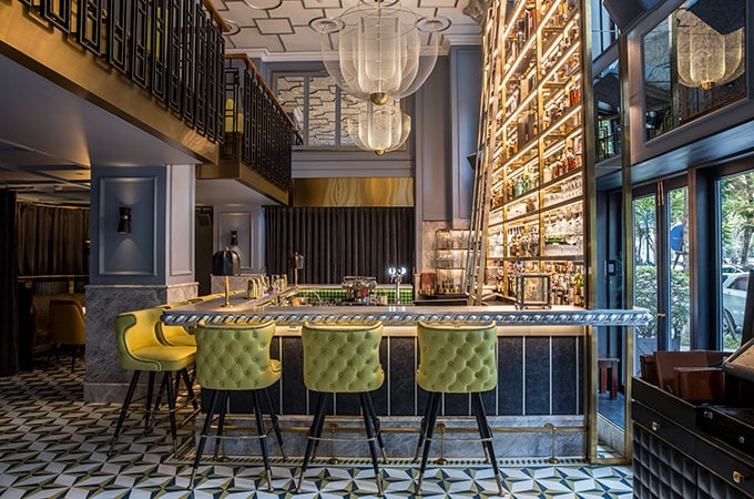 Count down to 2020 in Metropole Hanoi's glamorous angelina cocktail bar & whisky lounge