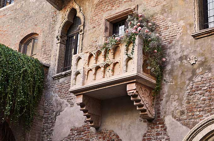 "The chance to yell ""wherefore art thou Romeo?"" from Juliet's balcony? Priceless."