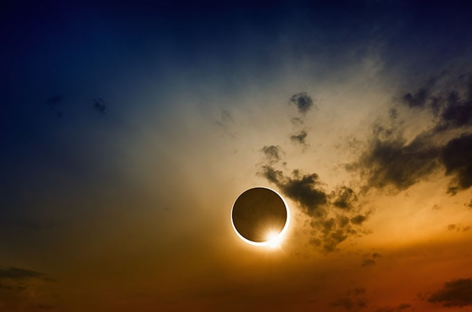 The chance to see a rare solar eclipse is the perfect excuse to book your dream Antarctica adventure. Photo: Shutterstock
