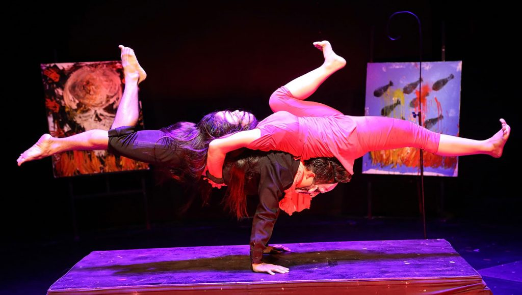 Witness the talented young artists at Phare Circus