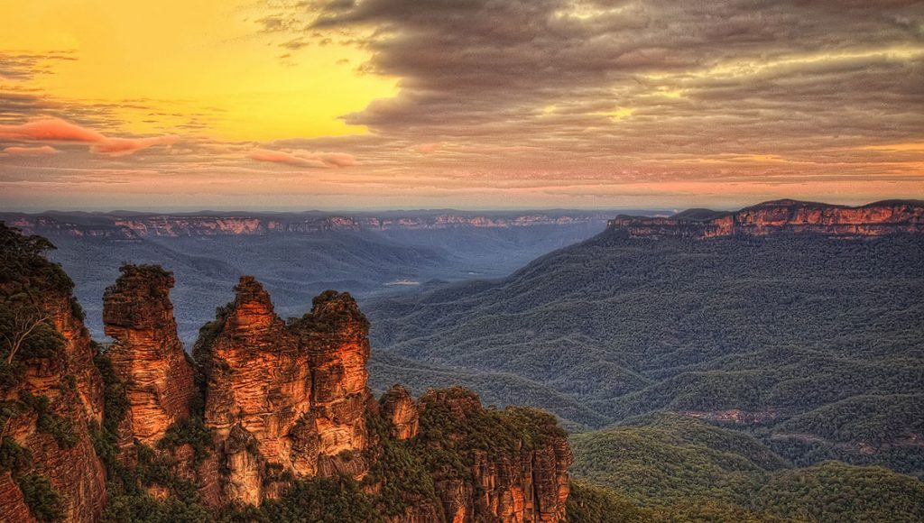 Short breaks blue mountains
