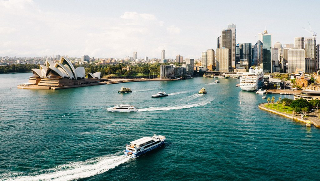 Short breaks sydney harbour