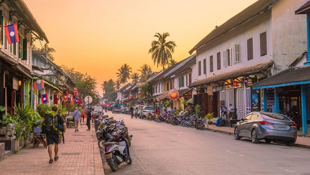 Luang Prabang's Old Town's streets are pure romance
