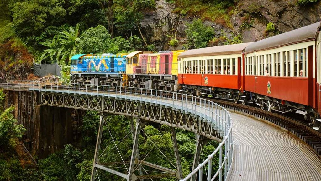 Kuranda scenic rail - ultimate australian honeymoon