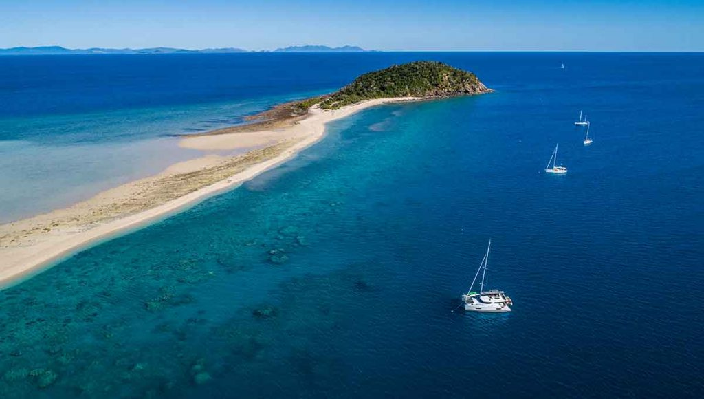 bareboat with cumberland charter yachts - ultimate australian honeymoon
