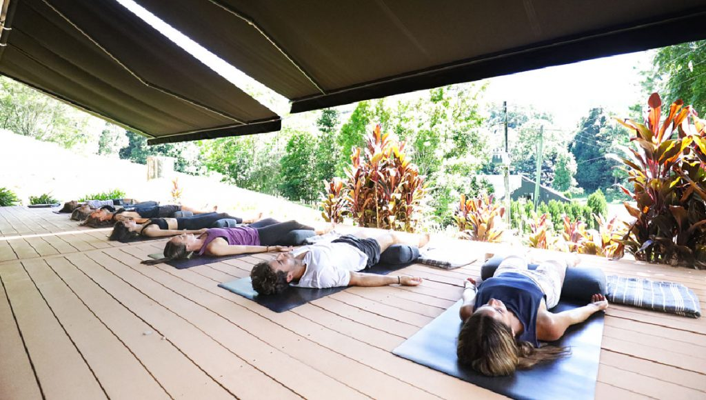 Yoga at Eden Health Retreat
