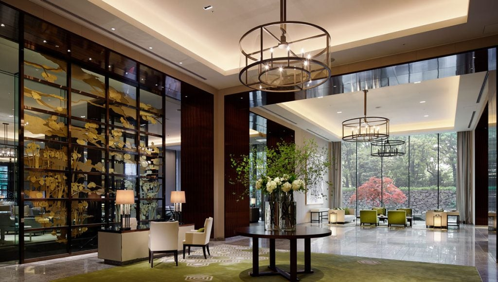 The palace hotel, Tokyo