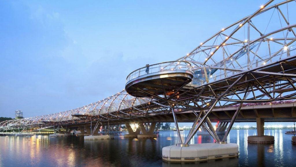 Helix Bridge, Singapore - Westworld
