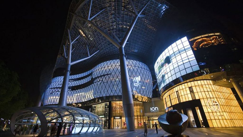 ION Shopping Centre on Orchard Road, Singapore - Westworld