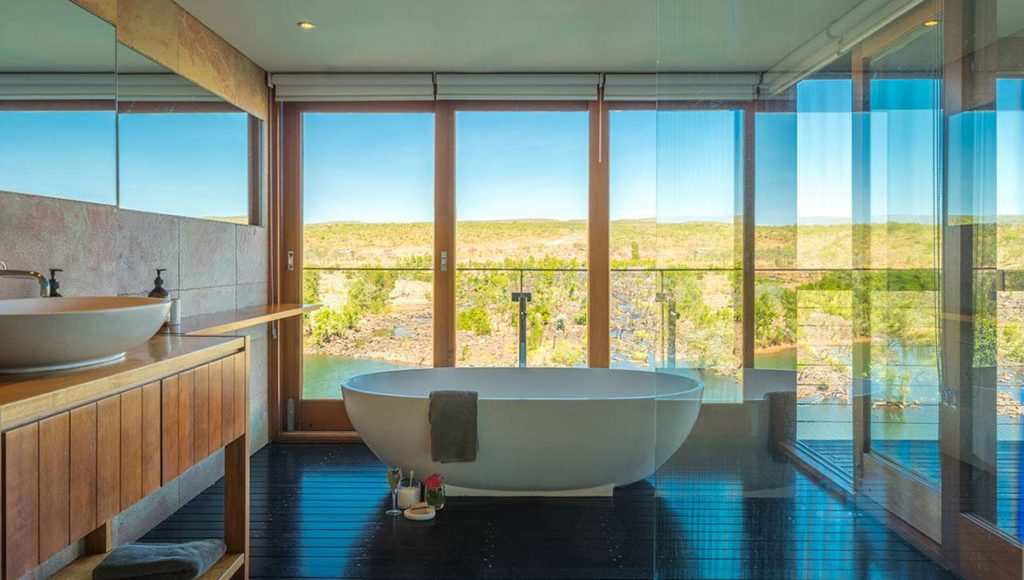 El Questro Retreat, breathtaking baths with a view in Australia