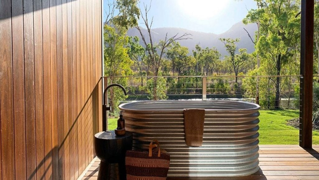 Mt Mulligan Lodge, breathtaking baths with a view in Australia