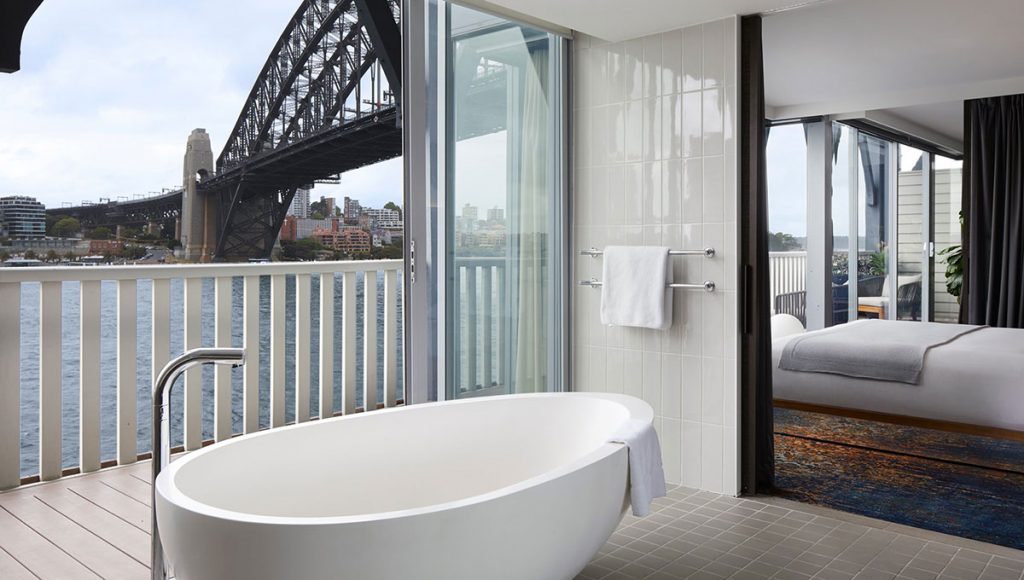 Pier One, breathtaking baths with a view in Australia