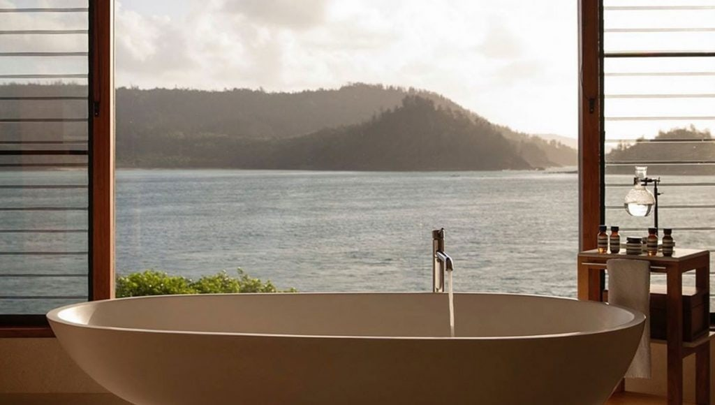 Qualia, breathtaking baths with a view in Australia