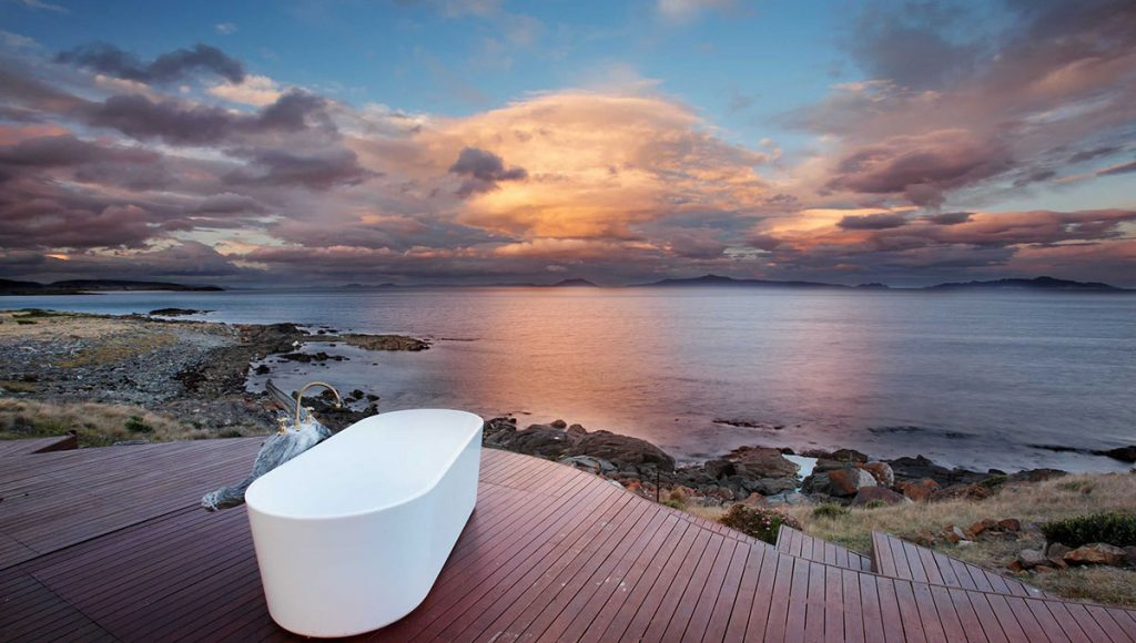 Thalia Haven, breathtaking baths with a view in Australia