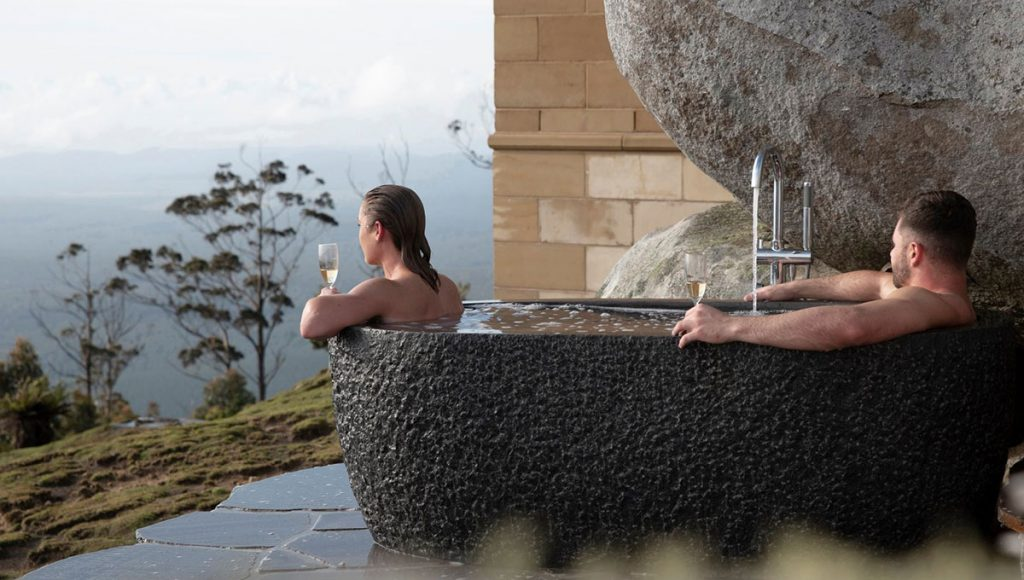 The Keep, breathtaking baths with a view in Australia