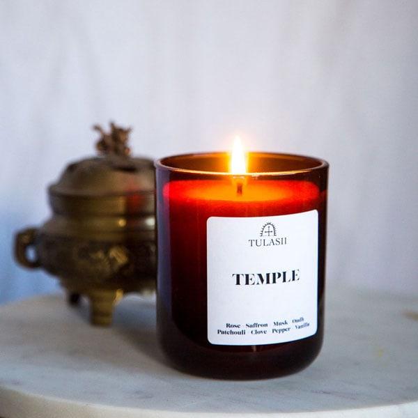 25 gift ideas, tulasii candle
