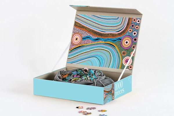 25 gift ideas, indigenous jigsaw