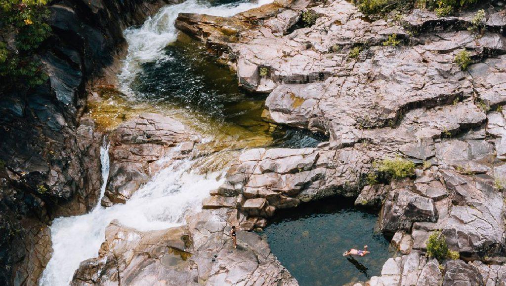 Queensland Spa Pools - Clamshell Falls