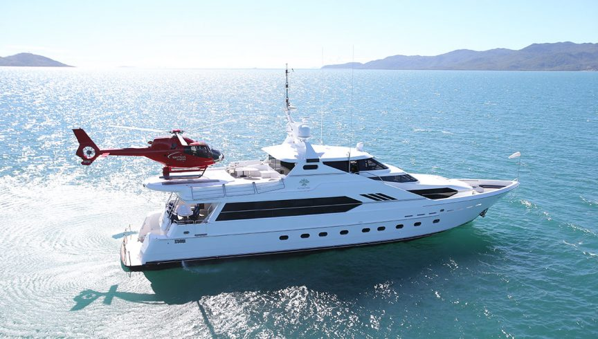 Great Barrier Reef superyacht escape