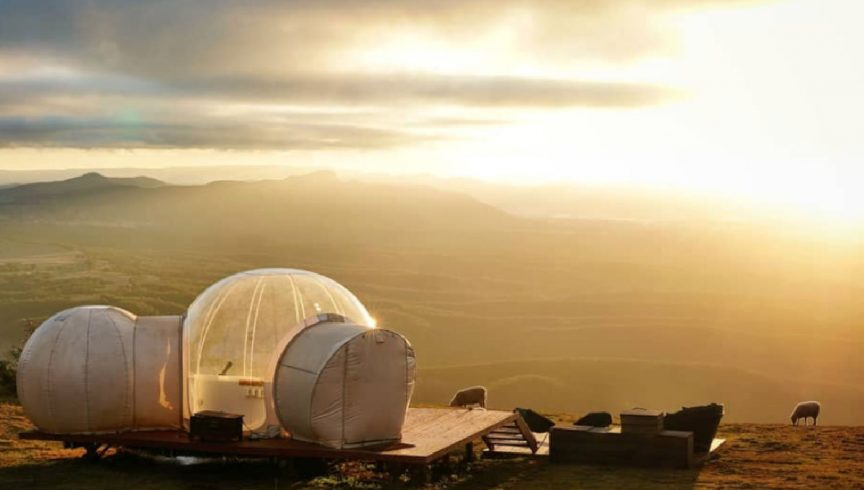 dome glamping