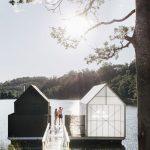 Have you tried Tasmania's floating sauna yet?